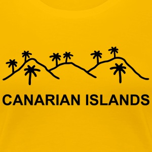 Canarian Islands T-Shirts - Frauen Premium T-Shirt