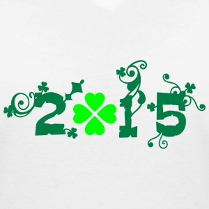 2015 st.Paddy's day Women's V-Neck T-Shirt - Women's V-Neck T-Shirt