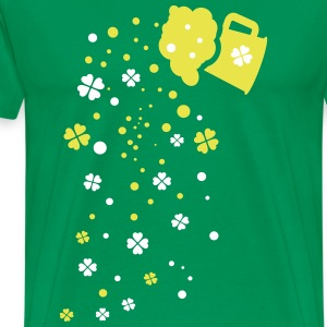 shamrocks beer Men's Premium T-Shirt - Men's Premium T-Shirt