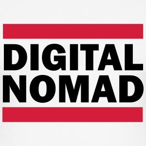 Digital Nomad T-Shirts - Men's Slim Fit T-Shirt