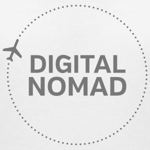 Digital Nomad T-Shirts - Women's V-Neck T-Shirt