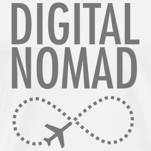 Digital Nomad - Forever T-shirts - Mannen Premium T-shirt