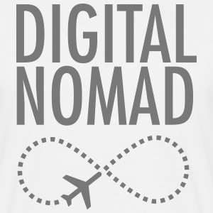 Digital Nomad - Forever Tee shirts - T-shirt Homme