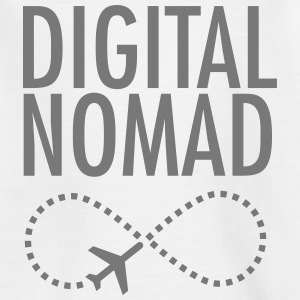 Digital Nomad - Forever Shirts - Teenage T-shirt