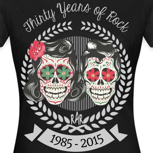 Girlie - RaR - 30 Years of Rock (Front/Back)