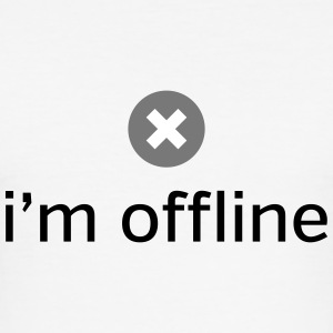 I'm Offline T-shirts - slim fit T-shirt