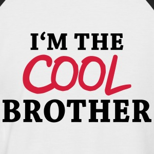 I'm the cool brother T-skjorter - Kortermet baseball skjorte for menn