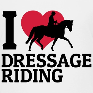 I love dressage riding j'adore le cheval de dressage Tee shirts - T-shirt Premium Enfant