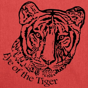 Eye of the Tiger - Schultertasche aus Recycling-Material