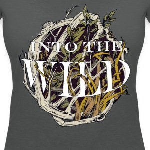 Into the Wild T-shirts - Vrouwen T-shirt met V-hals