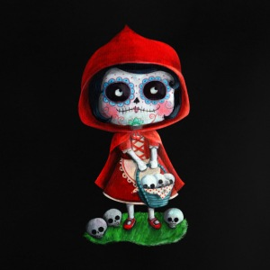 Mexican Little Red Riding Hood La Catrina Shirts - Baby T-Shirt