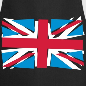 Crazy Union Jack  Aprons - Cooking Apron