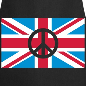 Peace Sign Union Jack, Union Jack Tabliers - Tablier de cuisine