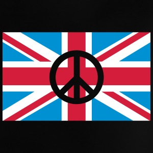 Peace Sign Union Jack, Union Jack Shirts - Baby T-shirt