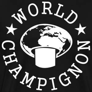 World Champignon T-Shirts - Men's Premium T-Shirt