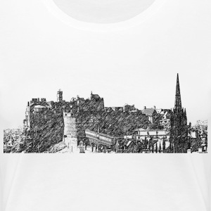 Edinburgh T-Shirts - Frauen Premium T-Shirt