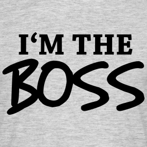 I'm the Boss T-skjorter - T-skjorte for menn