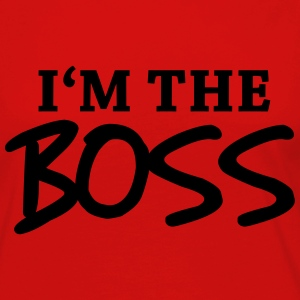 I'm the Boss Manches longues - T-shirt manches longues Premium Femme