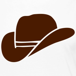 Cowboy hat Long Sleeve Shirts - Women's Premium Longsleeve Shirt