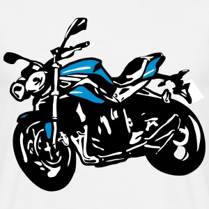 Motorcykel naked bike Streetfighter T-shirts - Herre-T-shirt