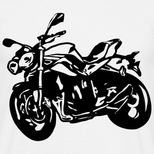 motorcycle Naked Bike Street Fighter T-Shirts - Men's T-Shirt