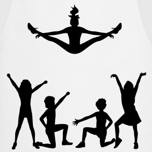 A group of cheerleaders  Aprons - Cooking Apron