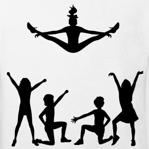 A group of cheerleaders Shirts - Kids' Organic T-shirt