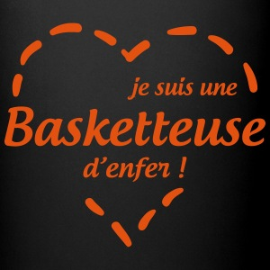 Basketteuse d'enfer ! / Basketball / Basket ball Kopper & tilbehør - Ensfarget kopp