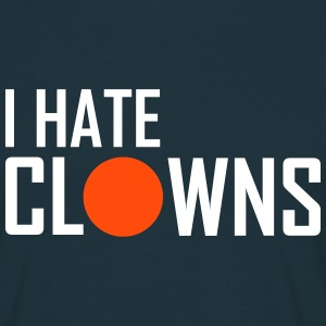 i hate clowns - Männer T-Shirt
