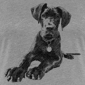 Dogge T-Shirts - Frauen Premium T-Shirt