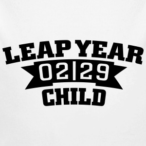 Leap year child 02/29 Hoodies - Longlseeve Baby Bodysuit
