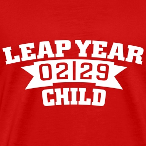 Leap year child 02/29 Tee shirts - T-shirt Premium Homme