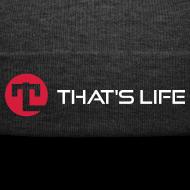 Design ~ Winter cap - That's Life - White Logo