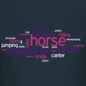 Horse Word Cloud T-Shirts - Women's T-Shirt
