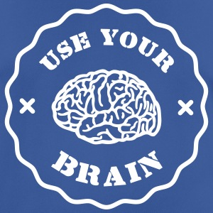 Use Your Brain - Funny Statement / slogan T-shirts - Herre T-shirt svedtransporterende