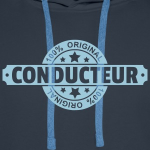 Conducteur Sweat-shirts - Sweat-shirt à capuche Premium pour hommes