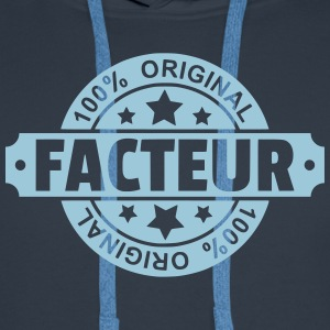 Facteur Sweat-shirts - Sweat-shirt à capuche Premium pour hommes
