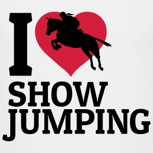 I love showjumping Shirts - Kids' Premium T-Shirt