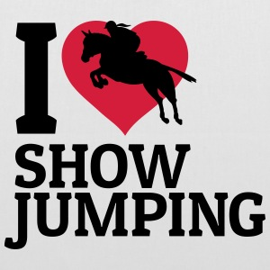 I love showjumping Bags & Backpacks - Tote Bag