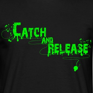 Catch and Release Men - Männer T-Shirt