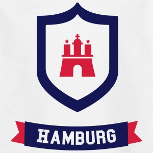 Hamburg badge Shirts - Teenage T-shirt