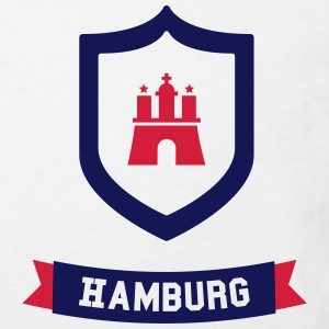 Hamburg badge Shirts - Kinderen Bio-T-shirt