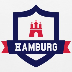 Hamburg College badge Tank Tops - Men's Premium Tank Top
