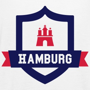 Hamburg College badge Tops - Vrouwen tank top van Bella