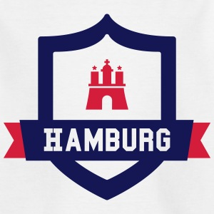 Hamburg College badge Shirts - Teenager T-shirt