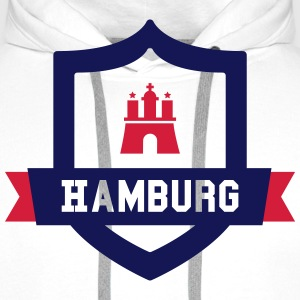 Hamburg College badge Sweaters - Mannen Premium hoodie