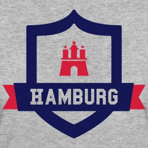Hamburg College badge T-shirts - Vrouwen Bio-T-shirt