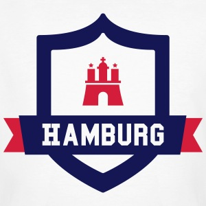 Hamburg College badge T-Shirts - Men's Organic T-shirt