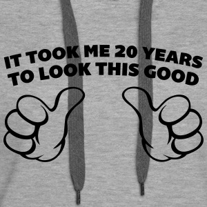 20 Years Look This Good  Hoodies & Sweatshirts - Women's Premium Hoodie