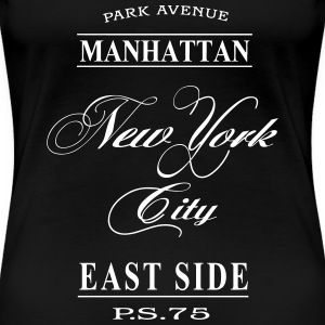 New York City T-shirts - Vrouwen Premium T-shirt